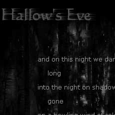 Thumbnail of Hallow's Eve.